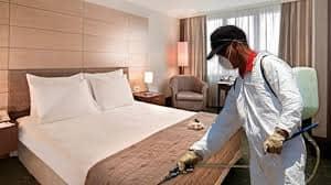 شرکت سمپاشی هتل