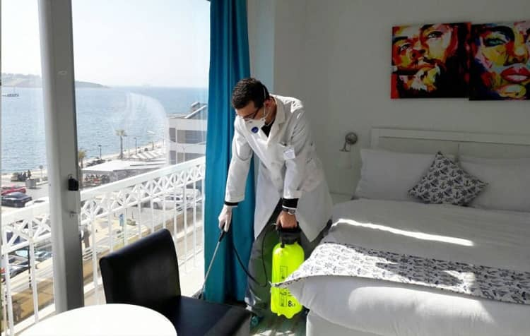 راهکار رهایی دائمی از شر حشرات در هتل ها